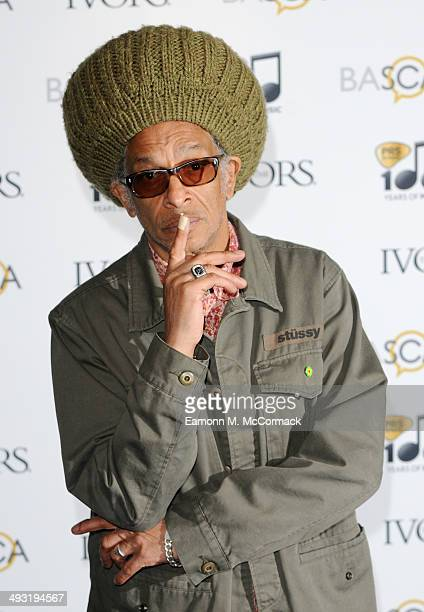 Don Letts attends the Ivor Novello Awards at The Grosvenor House Hotel on May 22, 2014 in London, England.