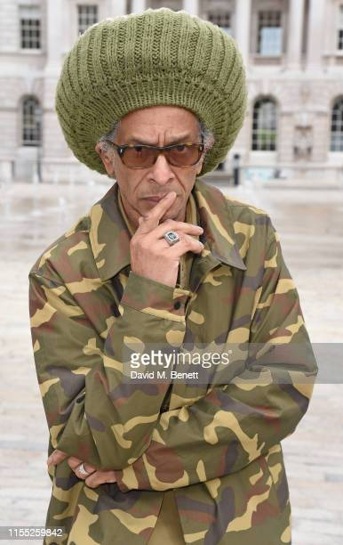 Don Letts attends the launch of Somerset House, Summer exhibitions; Get Up, Stand Up Now and Kaleidoscope on June 11, 2019 in London, England.