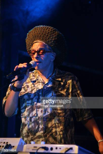 Don Letts of Big Audio Dynamite performs at Rock City on April 6, 2011 in Nottingham, England.
