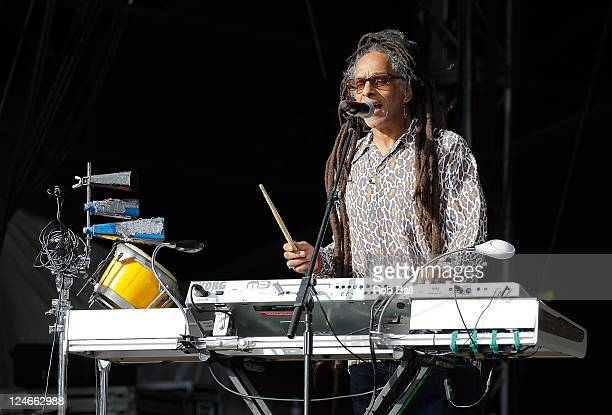 Don Letts of Big Audio Dynamite performs on day four of Bestival at Robin Hill Country Park on September 11, 2011 in Newport, Isle of Wight.