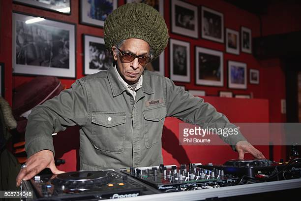 Don Letts photographed at the launch of Punk London at The 100 Club on January 19, 2016 in London, England.