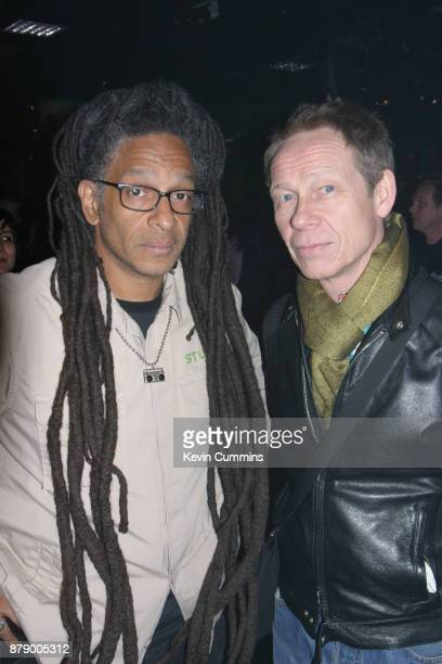 Don Letts with Sex Pistols drummer Paul Cook, London, 11th March 2006.