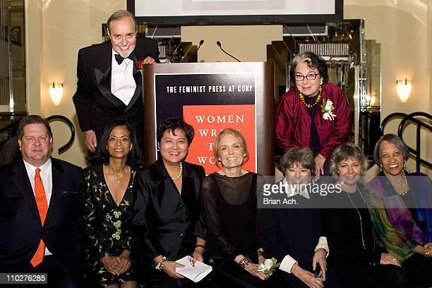 Don Linn, Brian B. Schwartz, Akosua Barthwell Evans, Linda Y. Peng, Gloria Steinem, Marilyn French, Florence Howe, Robin Morgan, and Johnetta B. Cole