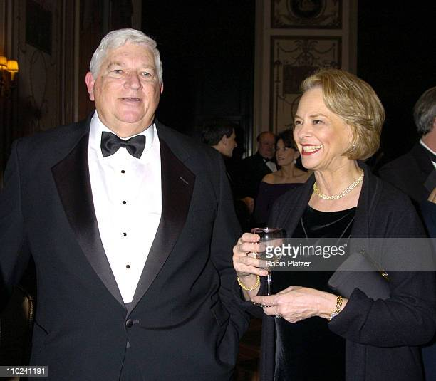 Don Logan and Ann Moore during The Magazine Publishers of America Henry Johnson Fisher Awards Dinner at The Waldorf Astoria Hotel in New York New...