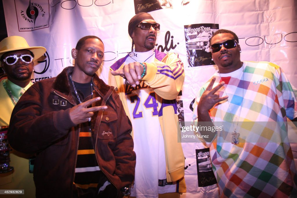 Don Magic Juan, Kurupt, Snoop Dogg and Daz Dillinger attend Snoop