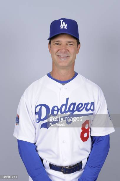 Don Mattingly of the Los Angeles Dodgers poses during Photo Day on Saturday February 27 2010 at Camelback Ranch in Glendale Arizona