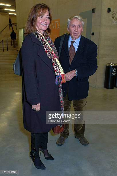 Don McCullin and wife Catherine Fairweather arrive at the opening reception for new exhibition 'The Radical Eye Modernist Photography From The Sir...