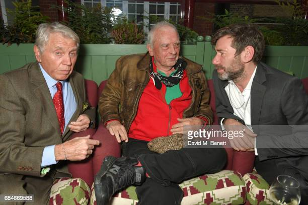 Don McCullin David Bailey and Mat Collishaw attend an event at MarkÕs Club hosted by Wallpaper* EditorinChief Tony Chambers in honour of Sir Don...