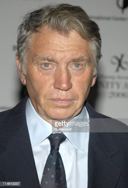 Don McCullin during The 22nd Annual Infinity Awards Presented by The International Center of Photography at Chelsea Piers in New York City New York...