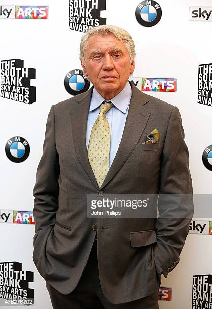 Don McCullin in the press room at the South Bank Sky Arts Awards at The Savoy Hotel on June 7 2015 in London England