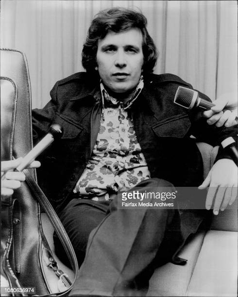 Don McLean at Sydney AirportAmerican Singer/song writer Don McLean arrived in Sydney today for a concert tourDon McLean the American singer and...
