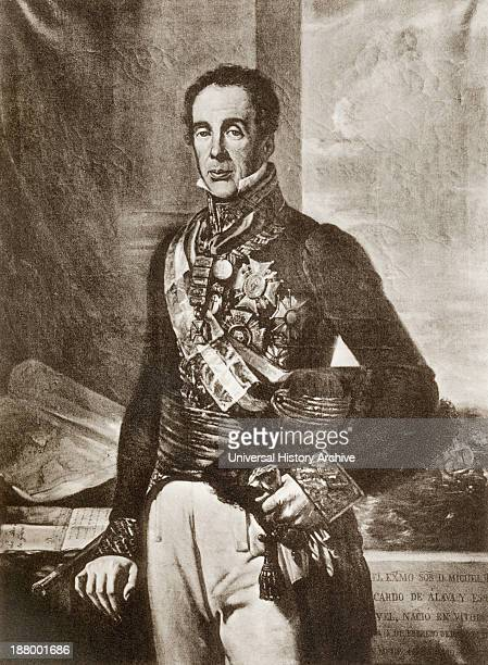 Don Miguel Ricardo De Alava Y Esquivel 1770 – 1843 Spanish General And Statesman From Guerra De La Independencia Published 1935