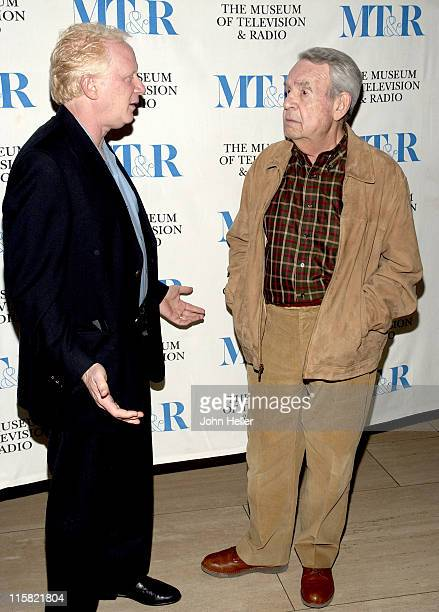 """Don Most and Tom Bosley during """"Happy Days"""" 30th Anniversary Reunion at The Museum of Television and Radio in Beverly Hills, California, United..."""