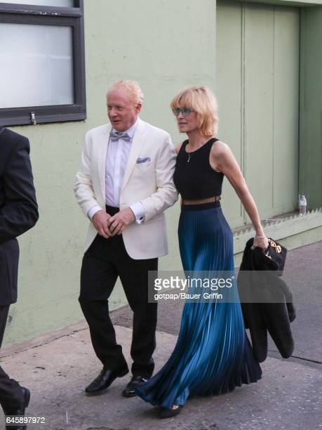 Don Most is seen on February 26, 2017 in Los Angeles, California.