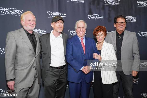 Don Most, Ron Howard, Henry Winkler, Marion Ross and Anson Williams attend Garry Marshall Theatre's 3rd Annual Founder's Gala Honoring Original...