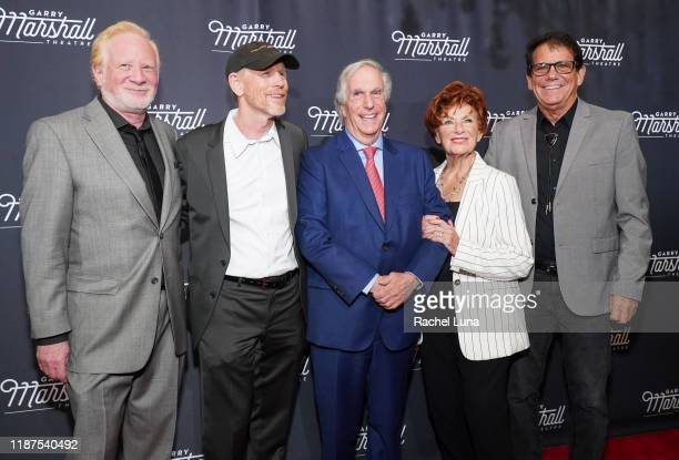 Don Most Ron Howard Henry Winkler Marion Ross and Anson Williams attend Garry Marshall Theatre's 3rd Annual Founder's Gala Honoring Original Happy...