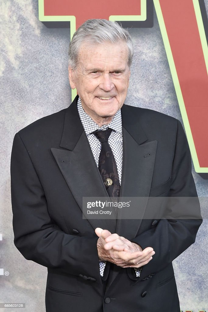 Don Murray attends the World Premiere Of Showtime's 'Twin Peaks' - Arrivals at The Theatre at Ace Hotel on May 19, 2017 in Los Angeles, California.