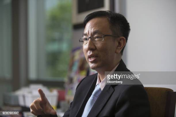Don Nakornthab senior director of the economic and policy department at the Bank of Thailand speaks during an interview in Bangkok Thailand on...