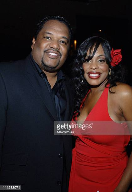 Don Nash and wife Niecy Nash during Niecy Nash Birthday Celebration - March 1, 2006 at White Lotus in Los Angeles, California, United States.