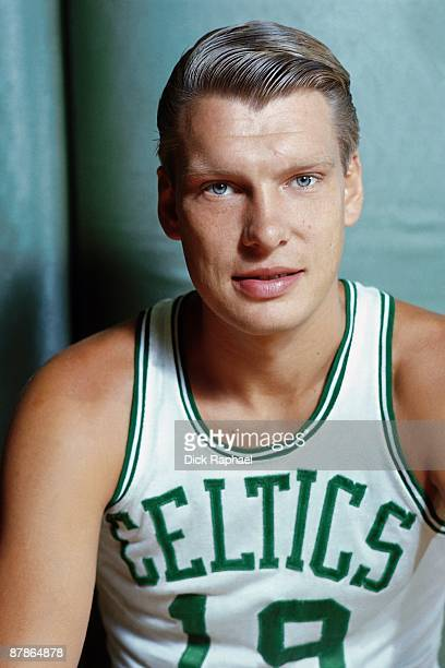 Don Nelson of the Boston Celtics poses for a portrait in 1968 at the Boston Garden in Boston Massachusetts NOTE TO USER User expressly acknowledges...