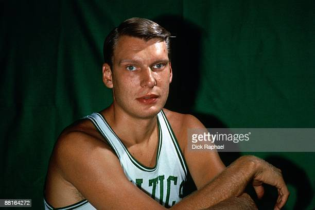Don Nelson of the Boston Celtics poses for a portrait in 1972 at the Boston Garden in Boston Massachusetts NOTE TO USER User expressly acknowledges...