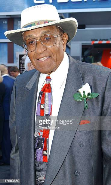 Don Newcombe during 15th Annual RBI Hall of Fame Dinner at The Globe Theater at Universal Studios in Universal City California United States