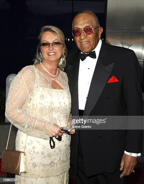 Don Newcombe during Elevate Hope Foundation 'Circle of Passion' Arrivals at Astra Lounge in West Hollywood California United States