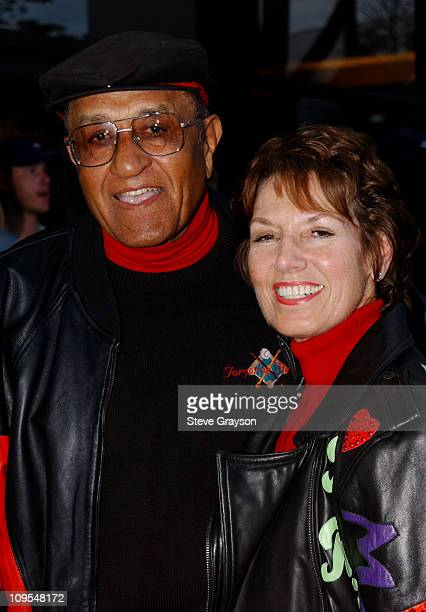 Don Newcombe wife during The Los Angeles Premiere of Jim Brown All American at Writers Guild of America Theater in Beverly Hills California United...