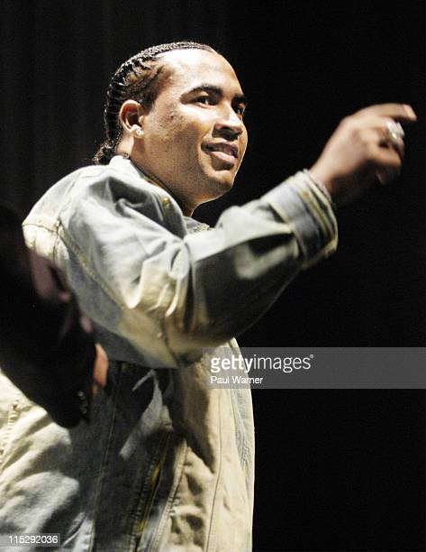 Don Omar during 2006 Hip Hop Summit Sponsored By Chrysler Financial at Wayne State University's Bonstelle Theatre in Detroit Michigan United States
