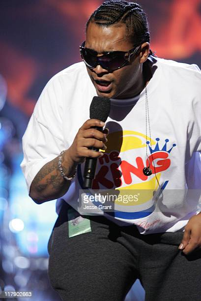 Don Omar during The 6th Annual Latin GRAMMY Awards Rehearsals Day Two at Shrine Auditorium in Los Angeles CA United States