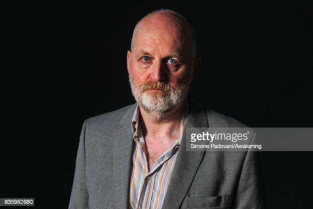 Don Paterson attends a photocall during the Edinburgh International Book Festival on August 20 2017 in Edinburgh Scotland