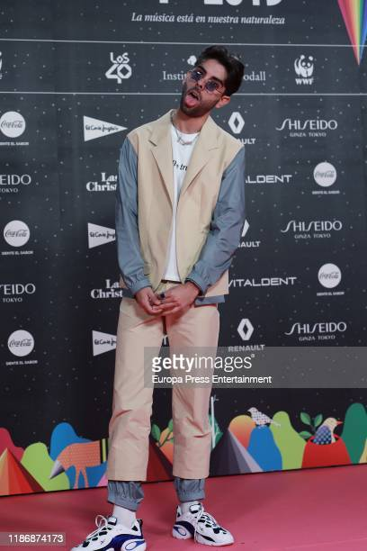 Don Patricio attends 'Los40 music awards 2019' photocall at Wizink Center on November 08 2019 in Madrid Spain