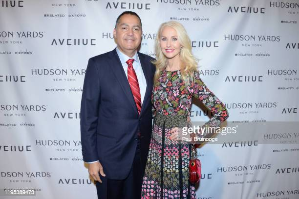 Don Peebles and Katrina Peebles attend Avenue Magazine Relaunch Party at Hudson Yards on January 22 2020 in New York City