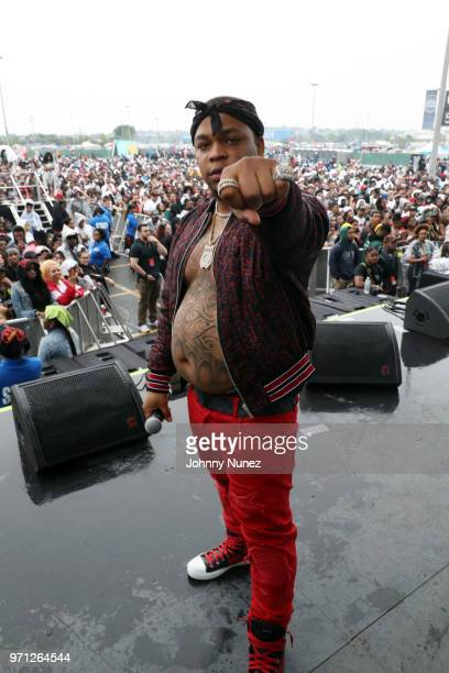 Don Q performs at Summer Jam 2018 at MetLife Stadium on June 10 2018 in East Rutherford New Jersey