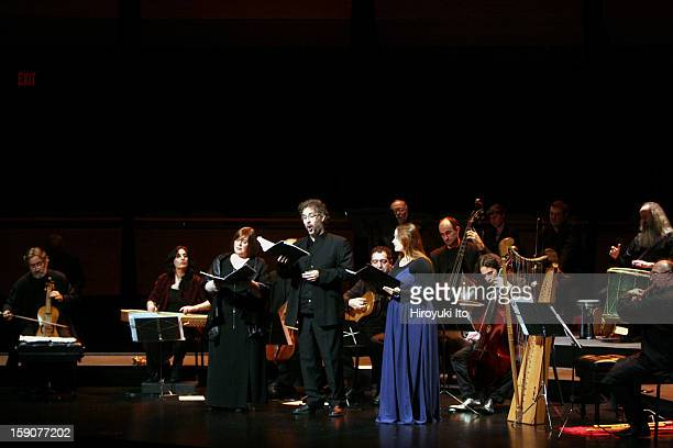 Don Quijote de la Mancha Romances y Musicas at Rose Theater on Monday night October 20 2008This imageJordi Savall on viola da gamba far left leading...