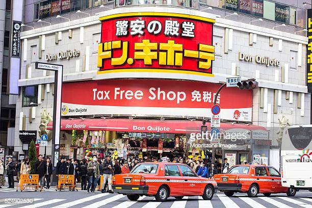 Don Quijote Tax Free Shop in Tokyo, Japan