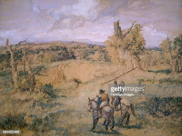 'Don Quixote and Sancho Panza' 1894