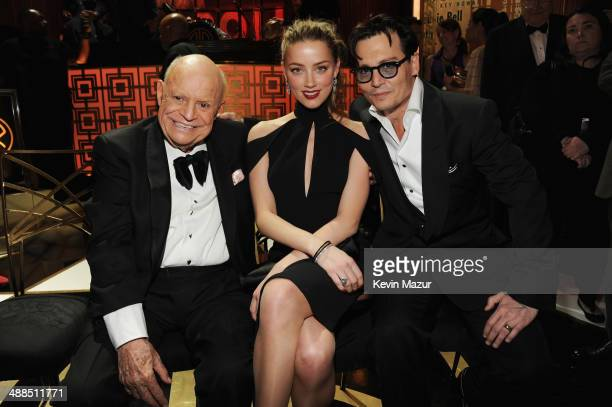 Don Rickles Amber Heard and Johnny Depp atend Spike TV's 'Don Rickles One Night Only' on May 6 2014 in New York City