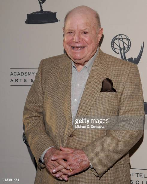 Don Rickles attends 'A Conversation with 'Mr Warmth' Don Rickles' on April 17 2008 at the Leonard H Goldenson Theatre in North Hollywood California