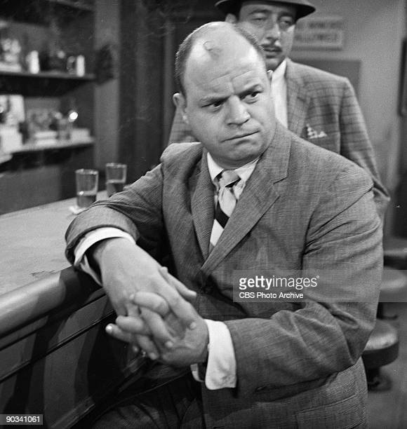 Don Rickles in Mr Dingle The Strong season 2 episode 19 of CBS' science fiction television series 'The Twilight Zone' July 29 1960