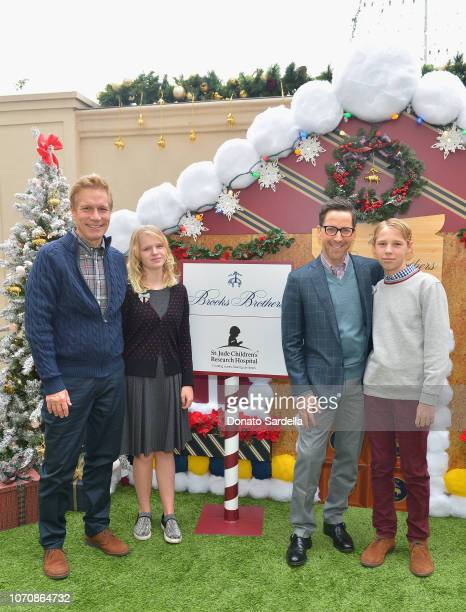 Don Roos Eliza Bucatinsky Dan Bucatinsky and Jonah Bucatinsky attend the Brooks Brothers and St Jude Children's Research Hospital Annual Holiday...