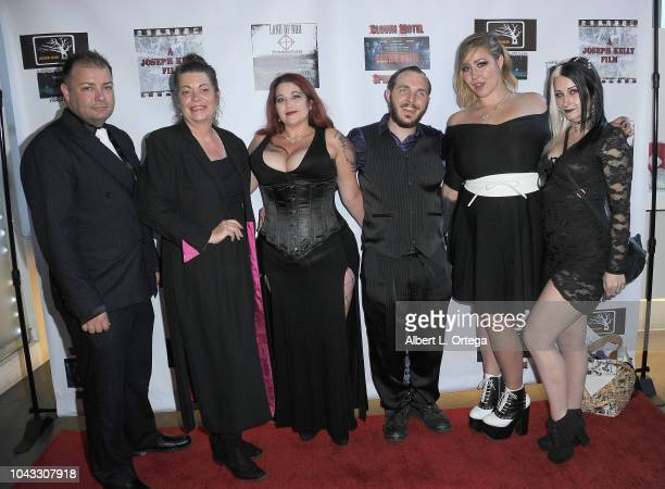 Don Schell Joanne Schell Cheryl Yassil Daniel Mann Riley Jane and Sarah Ferguson arrive for the Clown Motel Spirit's Arise Premiere held at Downtown...