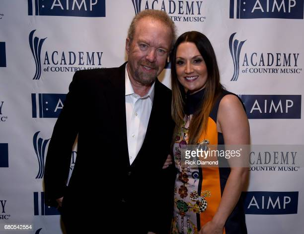 Don Schlitz and Natalie Hemby attend the 2017 AIMP Nashville Awards on May 8, 2017 in Nashville, Tennessee.