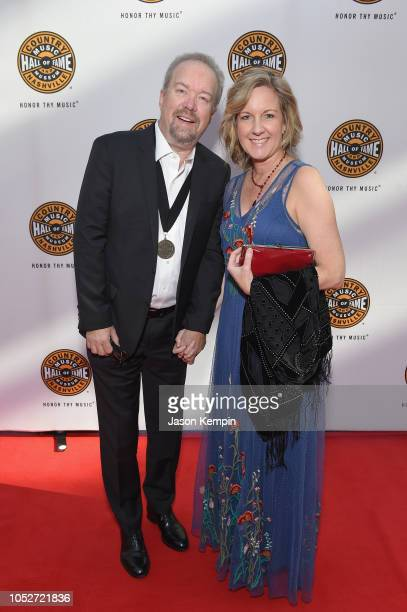 Don Schlitz and Stacey Schlitz attend the 2018 Country Music Hall of Fame and Museum Medallion Ceremony honoring inductees Johnny Gimble, Ricky...
