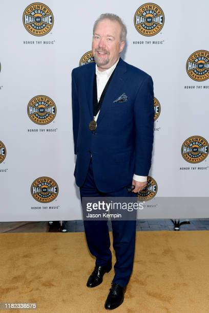 Don Schlitz attends the 2019 Country Music Hall of Fame Medallion Ceremony at Country Music Hall of Fame and Museum on October 20, 2019 in Nashville,...