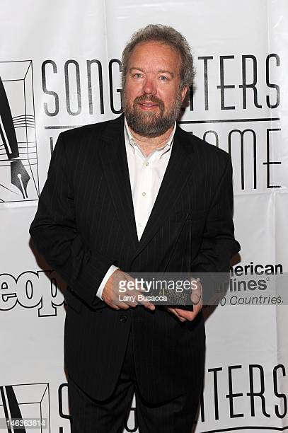 Don Schlitz attends the Songwriters Hall of Fame 43rd Annual induction and awards at The New York Marriott Marquis on June 14, 2012 in New York City.