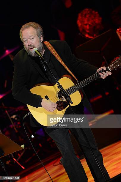 Don Schlitz performs at the 2013 Country Music Hall of Fame Medallion ceremony at Country Music Hall of Fame and Museum on October 27, 2013 in...