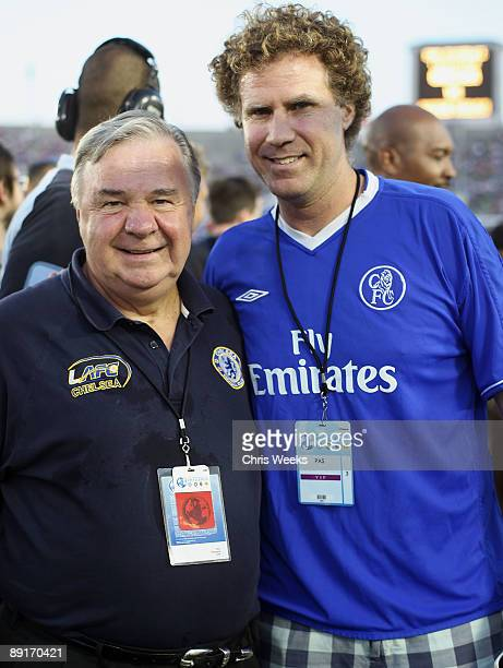 Don Sheppard of LAFC Chelsea and actor Will Ferrell attend Chelsea FC and InterMilan soccer match benefitting LAFC Chelsea and Africa Outreach...