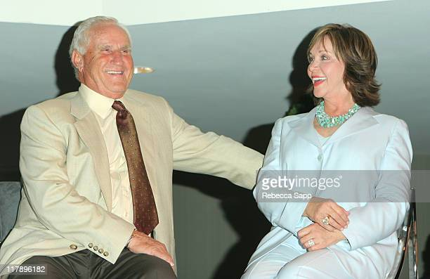 Don Shula and Mary Anne Shula during Shula's 347 Opening at Sheraton Gateway Hotel in Los Angeles California United States