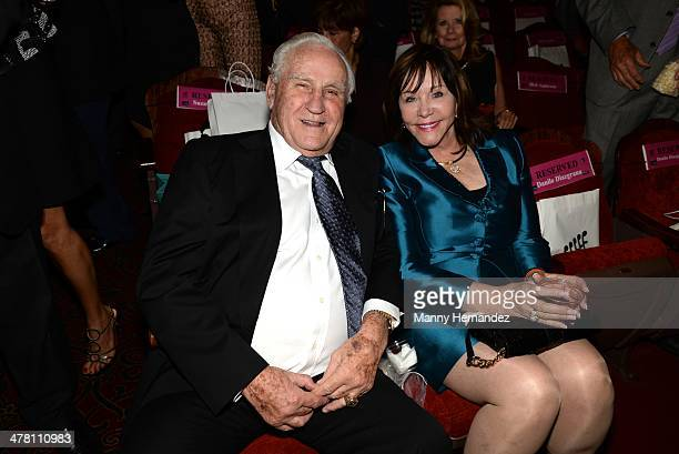 Don Shula and Mary Anne Stephens attends An Unbreakable Bond premiere during the Miami International Film Festival at Gusman Center for the...